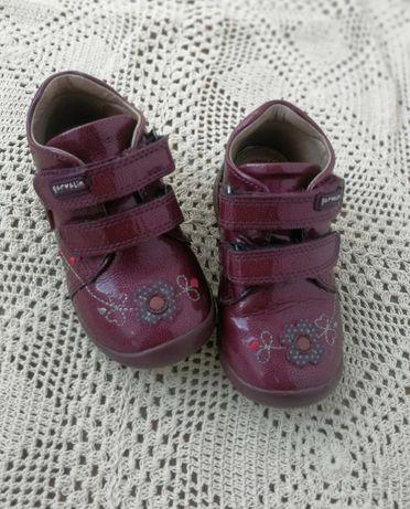 Кожаные ботинки garvalin 23 размер
