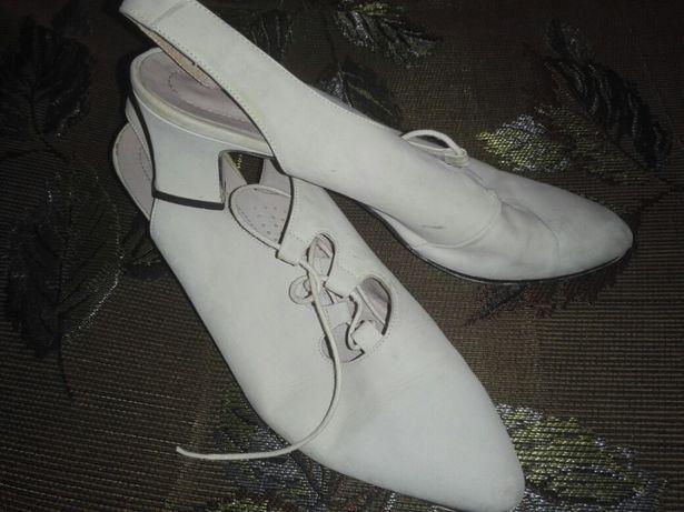 Ретро туфли. Натуральные. Ручная работа р.39