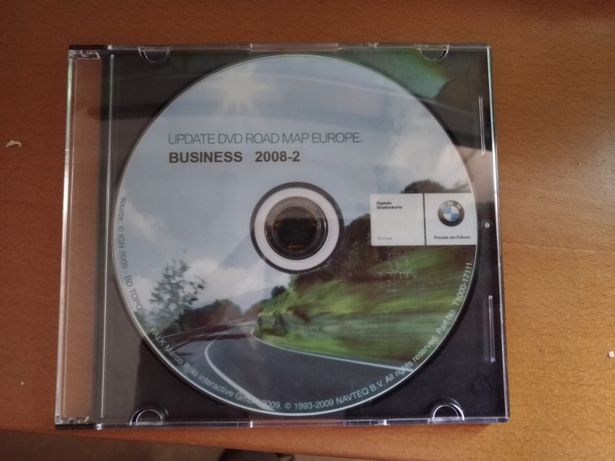 DVD BMW Mapa Europa