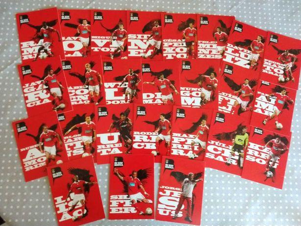 Cromos caderneta Eu sou Benfica 2009/2010
