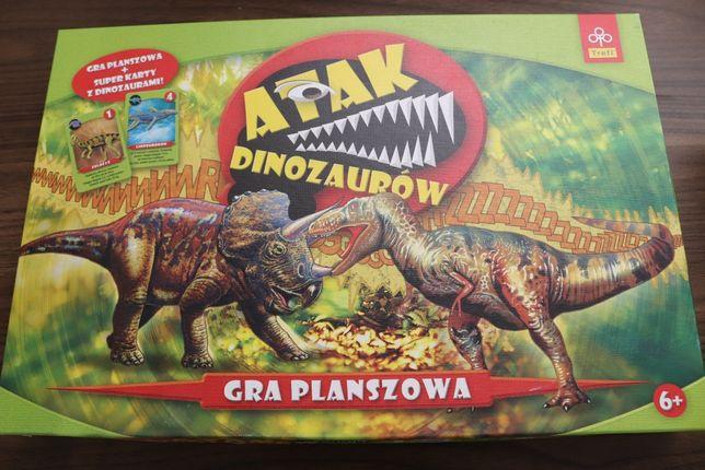 Gra planszowa Atak Dinozaurów