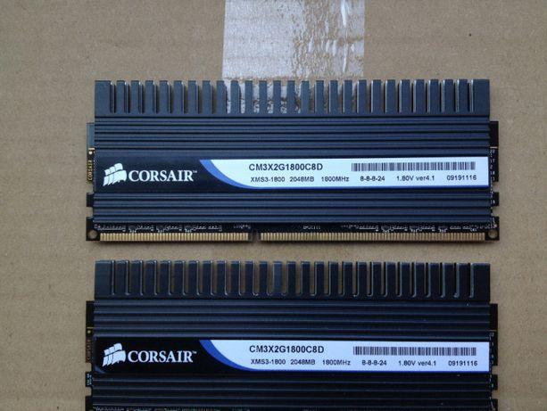 Оперативная память Corsair Dominator DDR3-1800MHz Kit of 2x2048