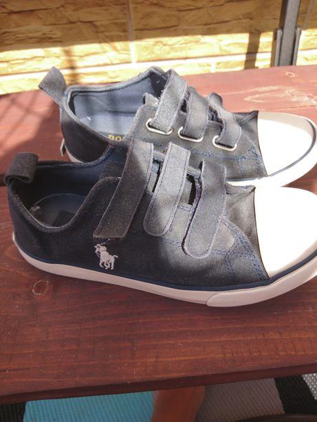 Polo Ralf Lauren trampki skórzane buty wysyłka gratis