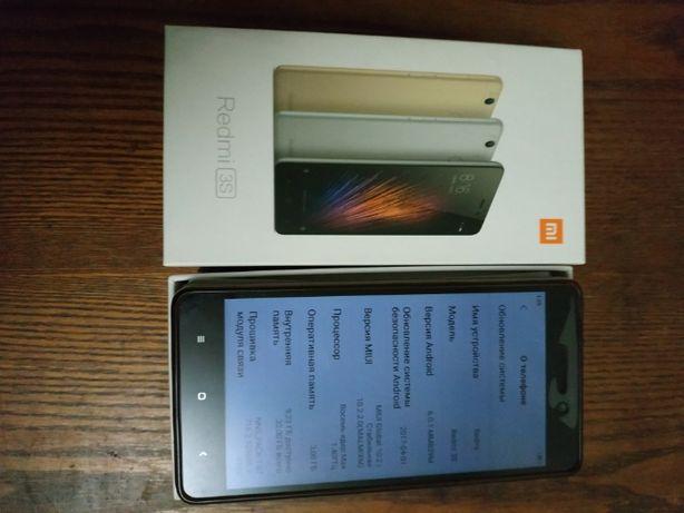 Xiaomi redmi 3s 3\32GB в прекрасном состоянии хороший аккумулятор