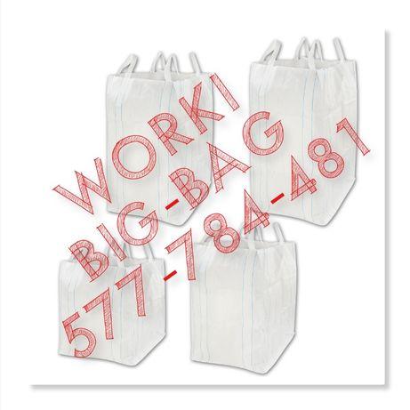 Big Bag na gruz kamień kostkę o wymiarze 95/95/120cm H U R T !