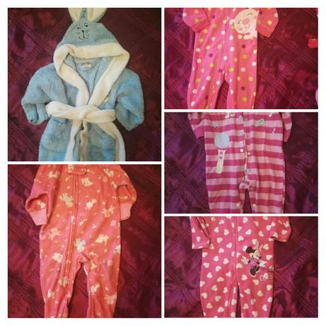 Комплект одежды (человечки и халат)