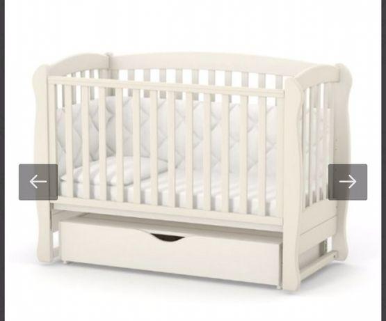 Детская Кроватка и матрас Верес