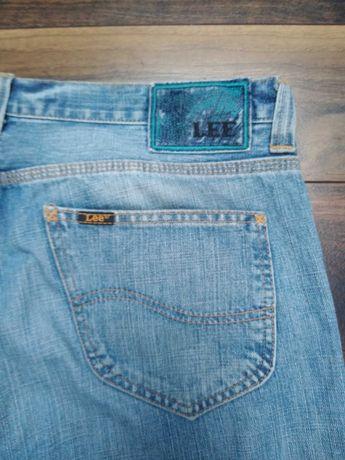 Męskie spodnie dżinsowe Lee