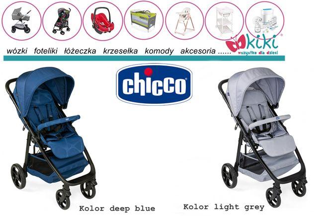 Chicco wózek spacerowy multiride deep blue, jet black, light grey