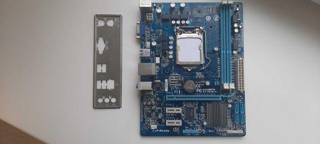 Материнская плата Gigabyte GA-H61M-S1 (s1155, Intel H61, PCI-Ex16)
