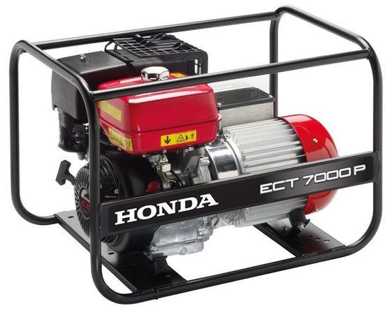 Agregat Honda ECT7000P 7,0kw 86kg trójfazowy ze stabilizacją AVR