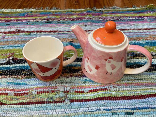 Conjunto de chá A Loja do Gato Preto