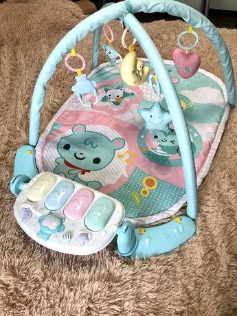Детский развивающий коврик для младенца