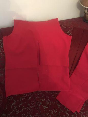Костум із жилетки,сорочки і штанів