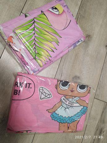 Два новых комплекта постельного белья