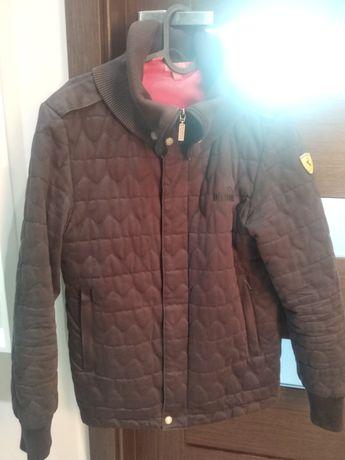 Oryginalna pikowana kurtka Puma Ferrari roz. XS