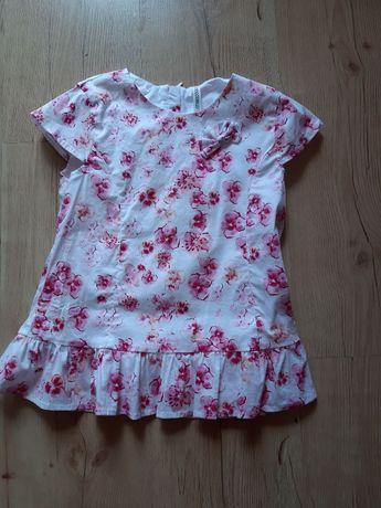 Elegancka bluzeczka w kwiatki r.122