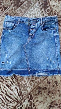 Юбка джинсовая.  ...