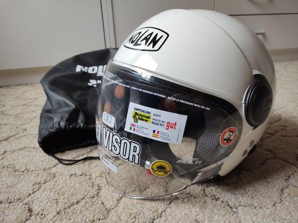 Nowy kask Nolan N21 Visor Classic 5 rozm. S Biały