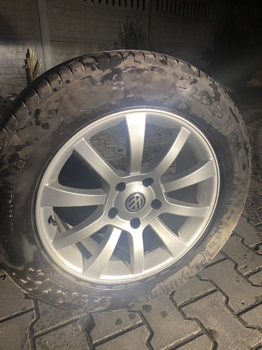 Продам оригинальные диски с летней резиной на VW Taureg Старые Безрадичи - изображение 1