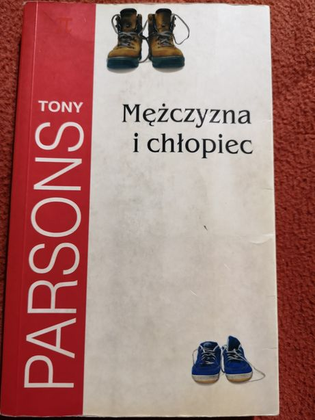 Mężczyzna i chłopiec Tony Parsons