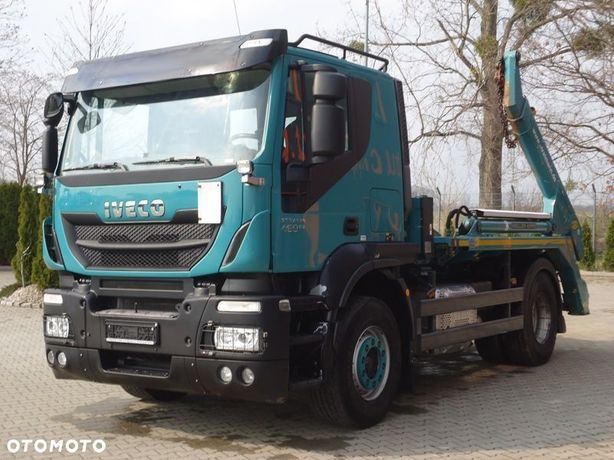 Iveco STRALIS AS 460 4x2 EURO6 BRAMOWIEC MEILLER 12 TON
