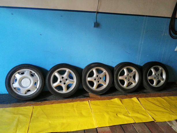 "Koła+felgi aluminiowe 15"" Opel Tigra"