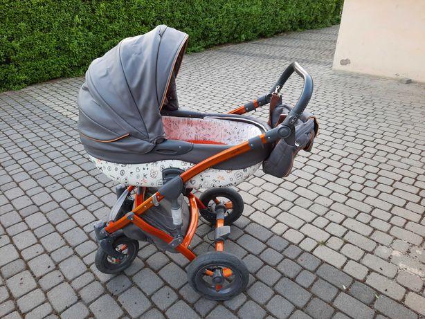 Wózek TAKO JUNAMA IMPULSE Gondola Spacerówka Adaptery Torba 3w1 Ecoskó
