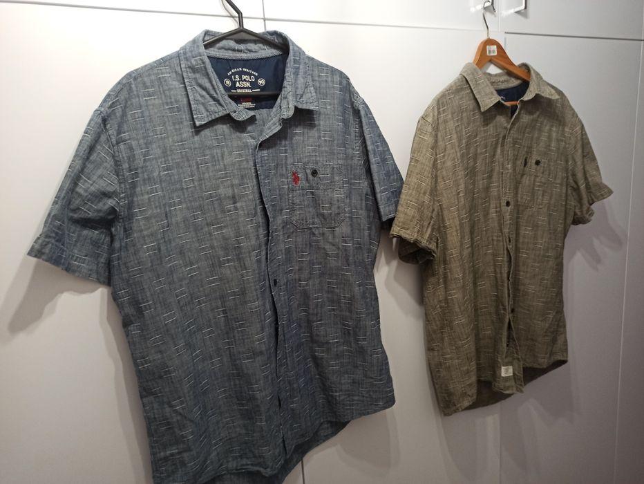Markowe eleganckie koszule z krótkim rękawem męskie XL/XXL Radom - image 1