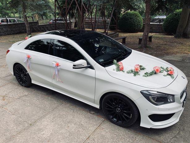 Mercedes do ślubu auto do ślubu mercedes AMG CLA
