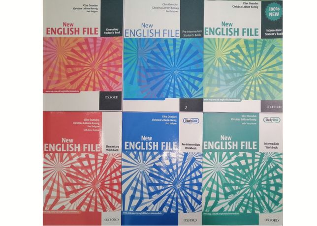 New English File: Elementary, Pre-Intermediate, Intermediate