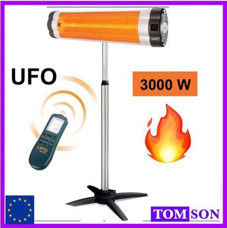 ЖАРА! Инфракрасный обогреватель UFO 3000W  с пультом Domotec