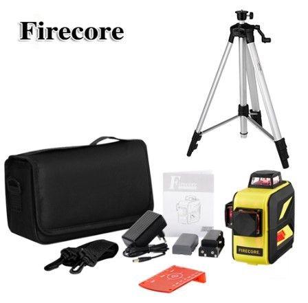 3D Firecore F93T-XR + ШТАТИВ Лазерный нивелир лазерный уровень