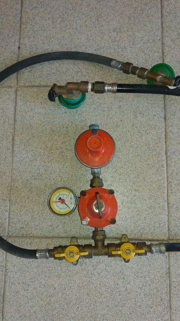 Equipamento para ligar gás (duas botijas)