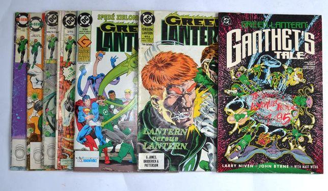 Green Lantern Tm-semic na sztuki komiksy Zielona latarnia