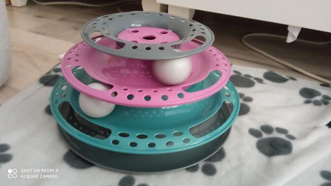 zabawka NOWA dla kota piłki wieża piłeczki karuzela