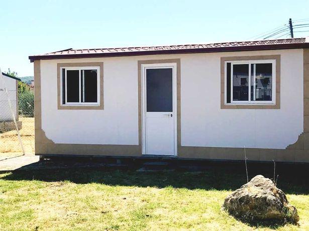 Casa pré-fabricada modular T1 equipada - Entrega imediata
