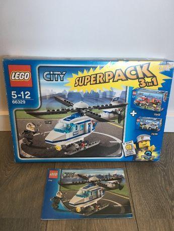 Lego City 66329 Helikopter policyjny
