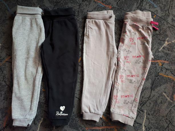 Zestaw spodni dziewczęcych  + legginsy 92