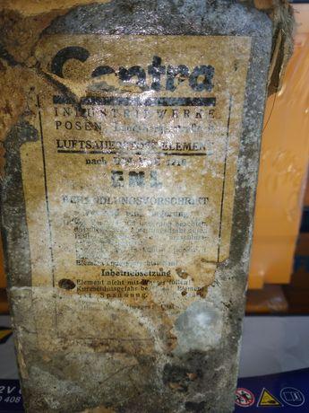 АКБ cenra раритетный аккумулятор времён Великой отечественной войны с