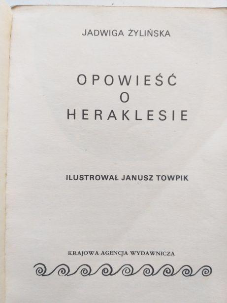 """""""Opowieść o Heraklesie"""" Jadwiga Żylińska 1976"""