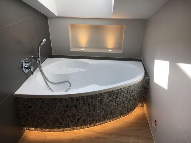 układanie płytek ,duże formaty,kompleksowe remonty łazienek