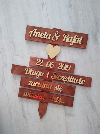 Drogowskaz ślubny