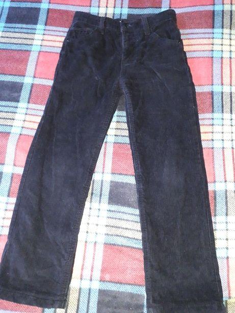 Теплые вельветовые джинсы на мальчика