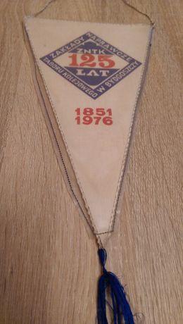 Proporczyk 125 lat ZNTK w Bydgoszczy 1976 (Kolekcja z PRL)