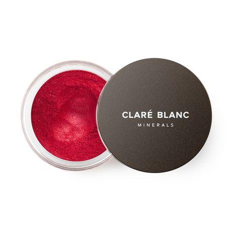 Clare Blanc Real Red 876 czerwony cień mineralny