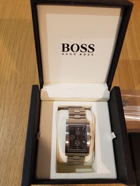 Zegarek Hugo Boss stal nierdzewna, sprawny, orginal,pudelko