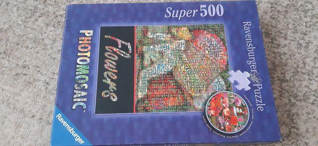 Puzzle magiczne 500 elementów.