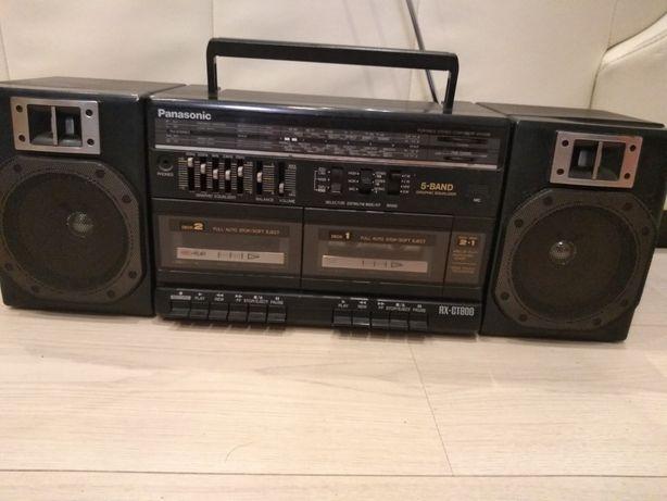 Radiomagnetofon dwukasetowy Panasonic RX-CT800