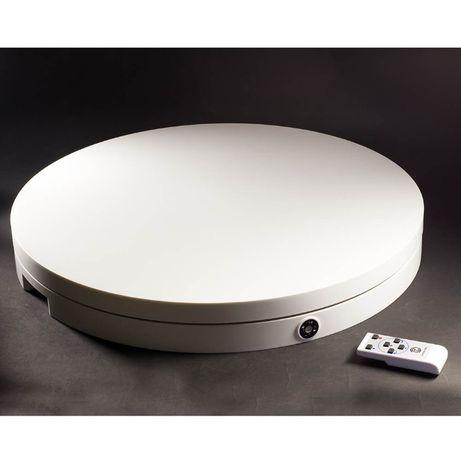 Поворотный 3d стол с ПДУ для предметной съемки,d60 вес 100кг